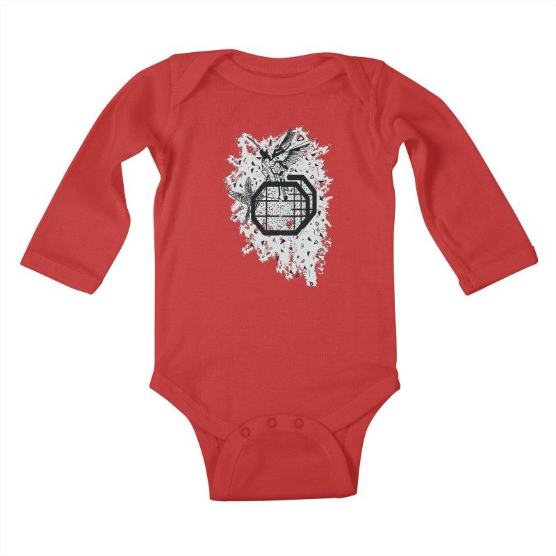 Save the birds Kids Baby Longsleeve Bodysuit by cindyshim's Artist Shop