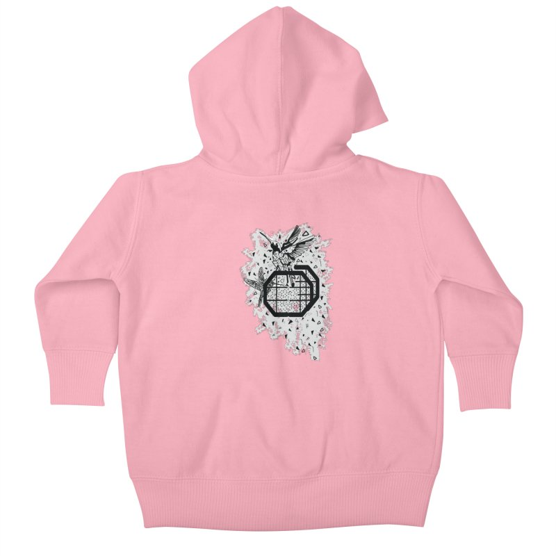 Save the birds Kids Baby Zip-Up Hoody by cindyshim's Artist Shop