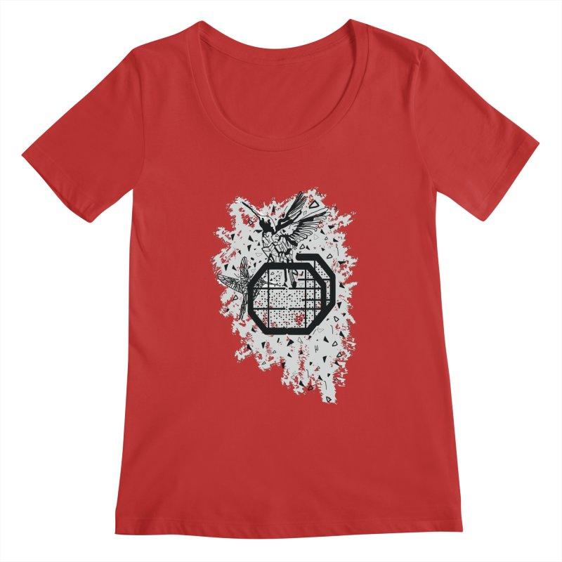 Save the birds Women's Regular Scoop Neck by cindyshim's Artist Shop