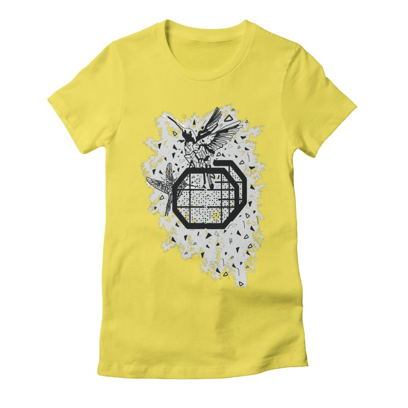 Save the birds Women's Fitted T-Shirt by cindyshim's Artist Shop