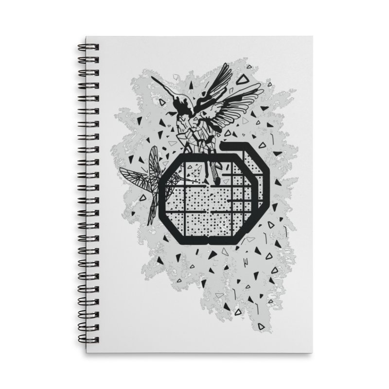 Save the birds Accessories Lined Spiral Notebook by cindyshim's Artist Shop