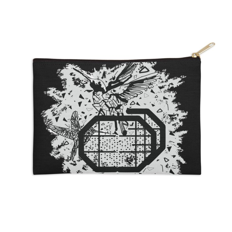 Save the birds Accessories Zip Pouch by cindyshim's Artist Shop