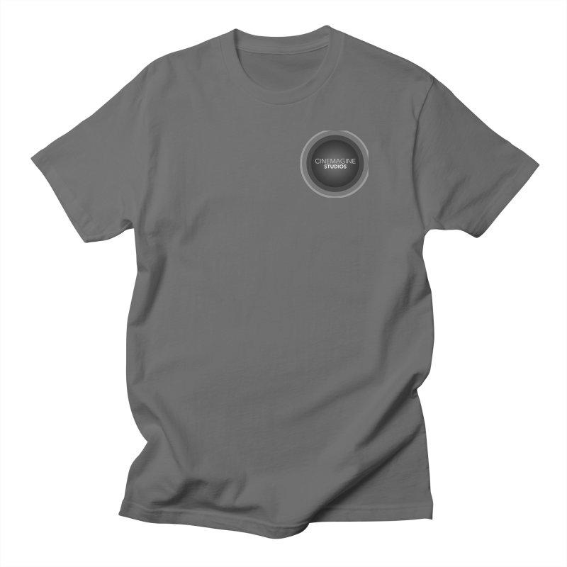 Cinemagine Studios (Left Breast) Men's T-Shirt by cinemaginestudios's Shop