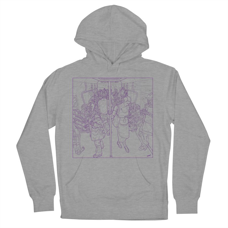 robot slaves Women's Pullover Hoody by shinobiskater's Artist Shop