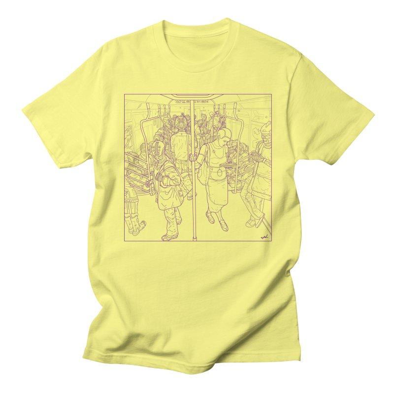 robot slaves Men's T-Shirt by shinobiskater's Artist Shop