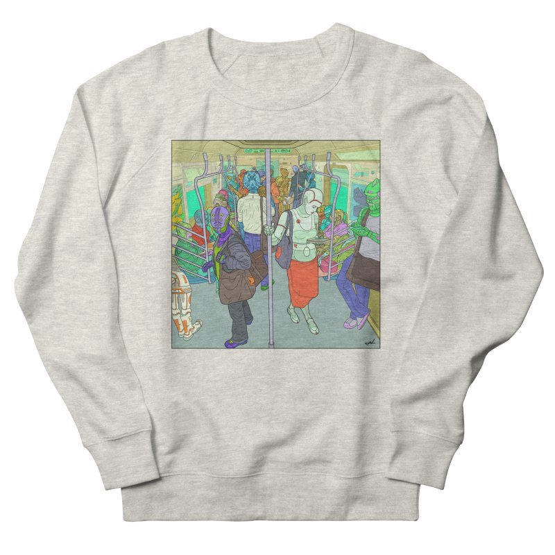 robot slaves in full color Women's Sweatshirt by shinobiskater's Artist Shop