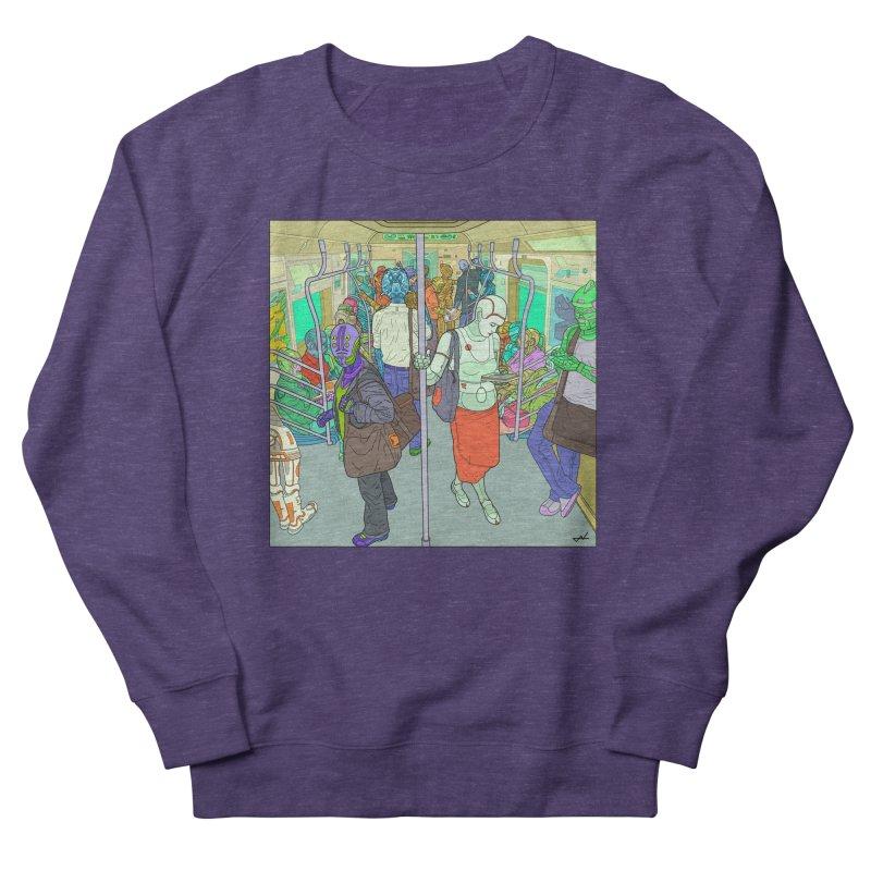 robot slaves in full color Men's Sweatshirt by shinobiskater's Artist Shop