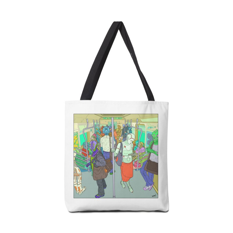 robot slaves in full color Accessories Bag by shinobiskater's Artist Shop