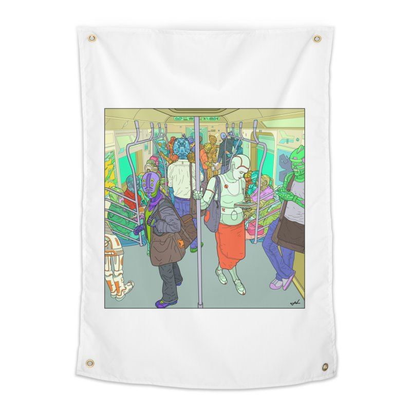 robot slaves in full color Home Tapestry by shinobiskater's Artist Shop