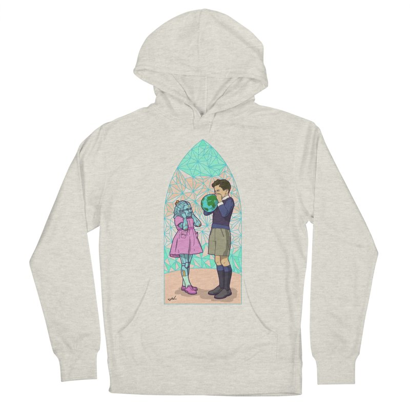 More Human Women's Pullover Hoody by shinobiskater's Artist Shop