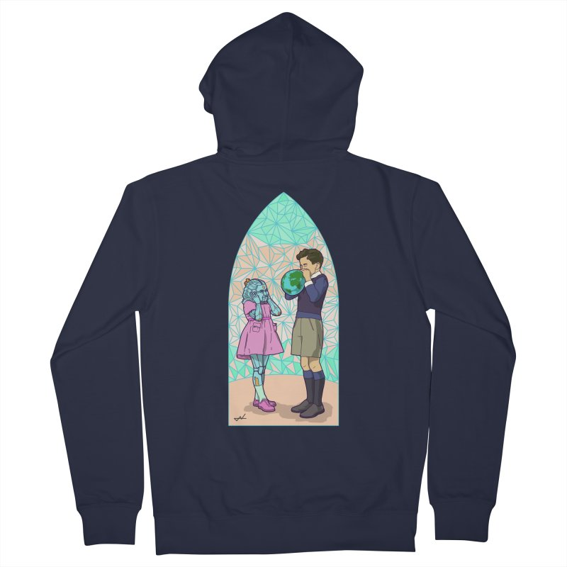 More Human Women's Zip-Up Hoody by shinobiskater's Artist Shop