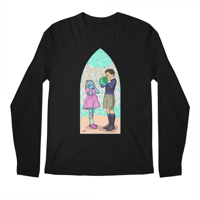 More Human Men's Longsleeve T-Shirt by shinobiskater's Artist Shop
