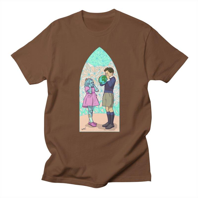 More Human Men's T-Shirt by shinobiskater's Artist Shop
