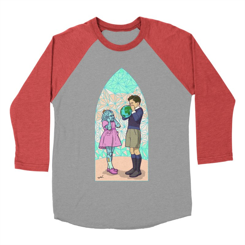 More Human Women's Baseball Triblend T-Shirt by shinobiskater's Artist Shop