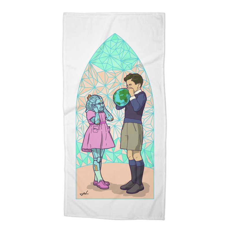 More Human Accessories Beach Towel by shinobiskater's Artist Shop
