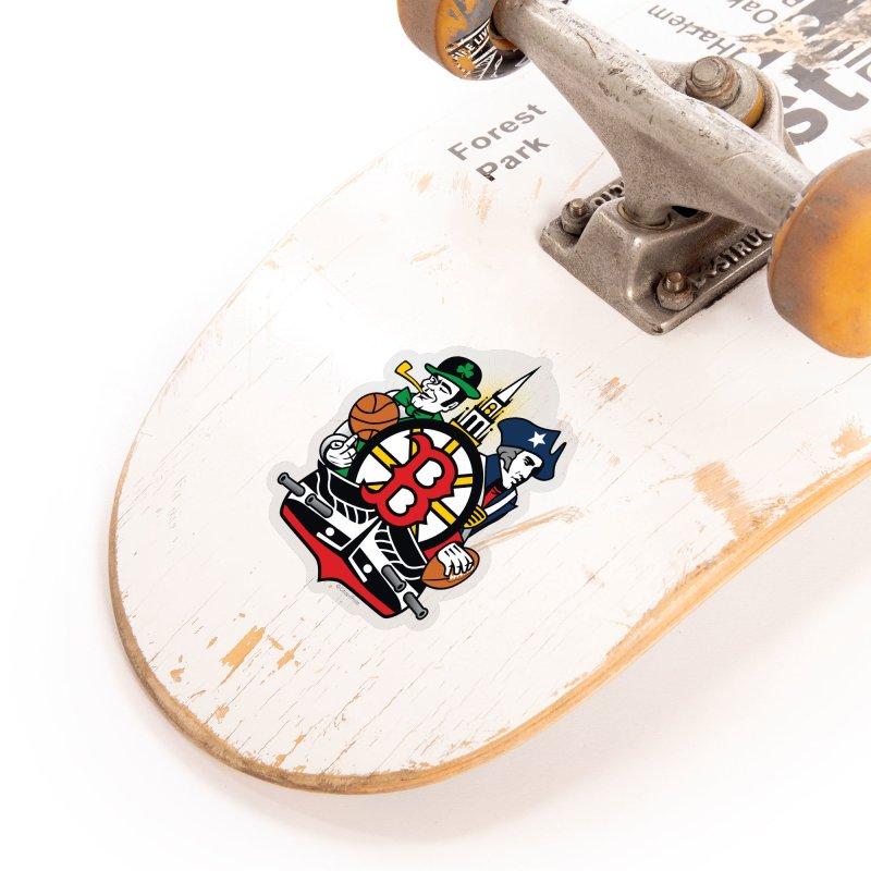 Boston Sports Fan Crest Accessories Sticker by Citizen Pride