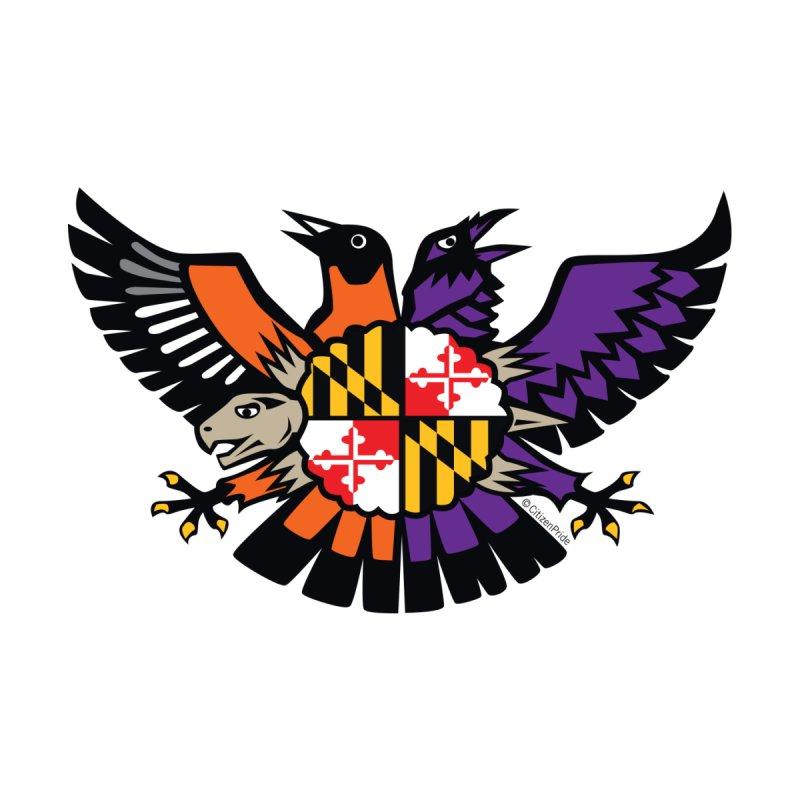 Maryland Birdland Terrapin Crest 2 Accessories Magnet by Citizen Pride