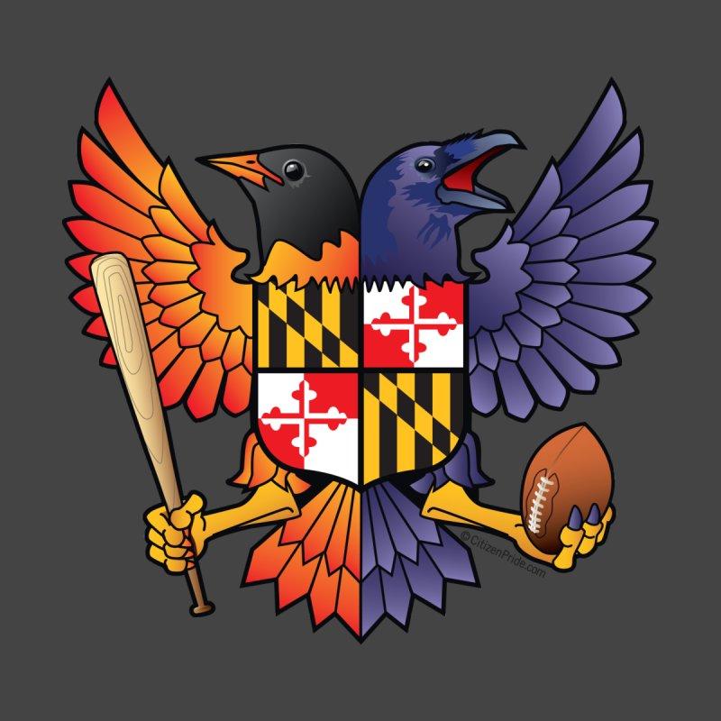 Birdland Maryland Crest Accessories Sticker by Citizen Pride
