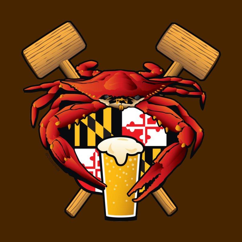 Maryland Crab Feast Crest Accessories Sticker by Citizen Pride