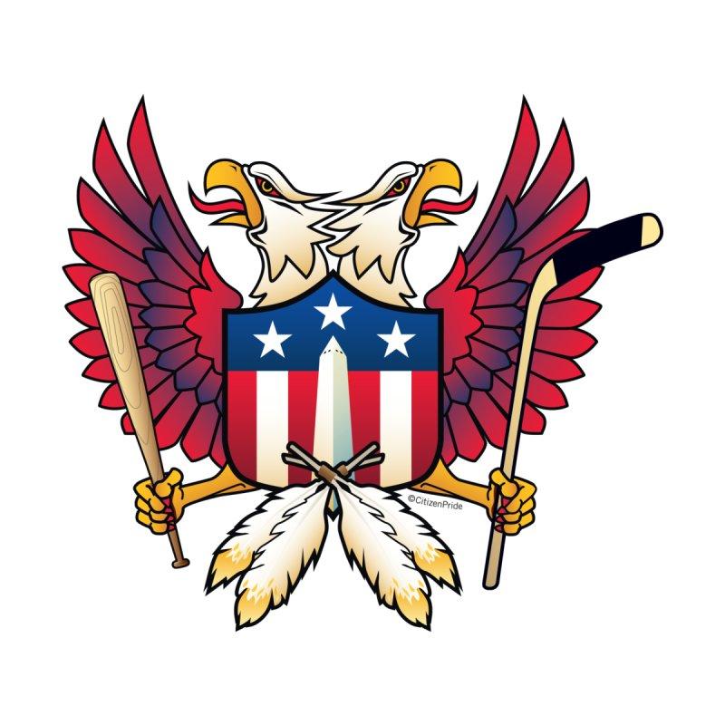Washington DC-Double Eagle Sports Fan Crest Women's T-Shirt by Citizen Pride
