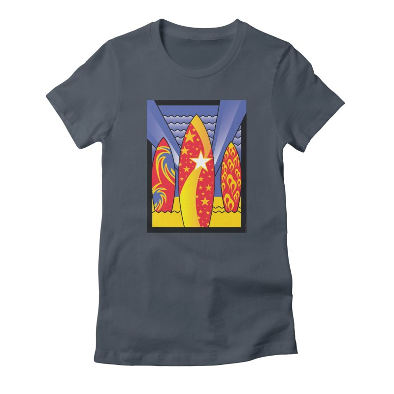 Surfs Up! Women's T-Shirt by Citizen Pride