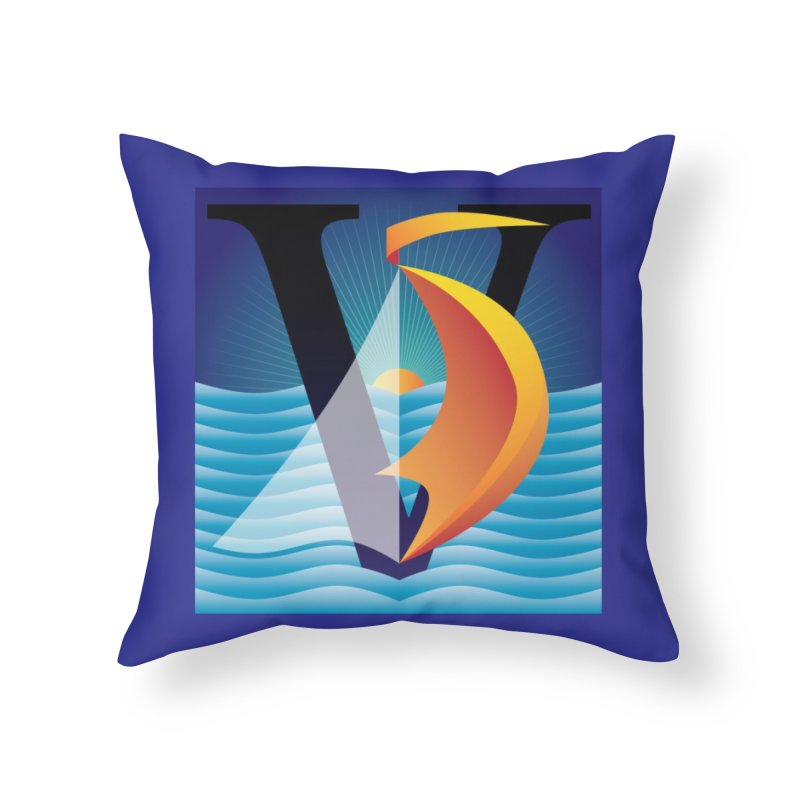 It's 5 O'Clock Somewhere Home Throw Pillow by Citizen Pride