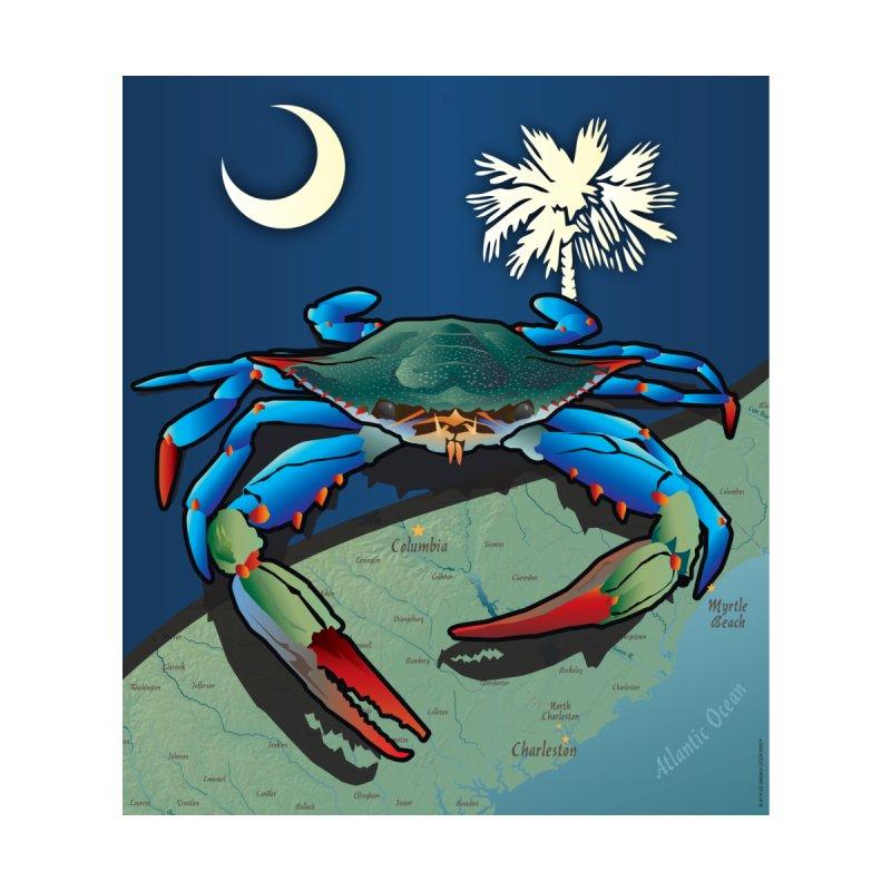 South Carolina Blue Crab Pride Women's T-Shirt by Citizen Pride