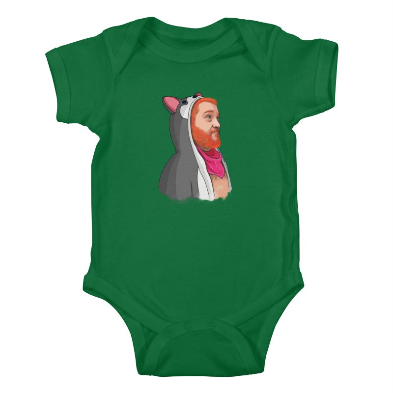 The Wolf Kids Baby Bodysuit by City of Pyramids's Artist Shop