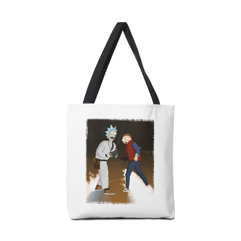 Back to the Future: Outatime Accessories Bag by City of Pyramids's Artist Shop