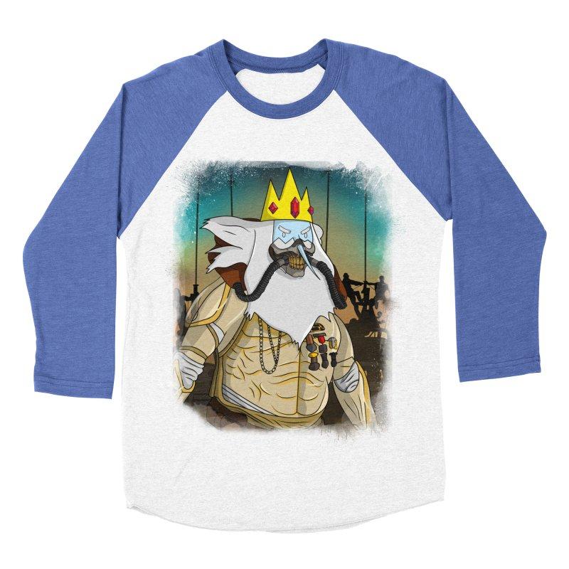 THE KING Men's Baseball Triblend Longsleeve T-Shirt by City of Pyramids's Artist Shop