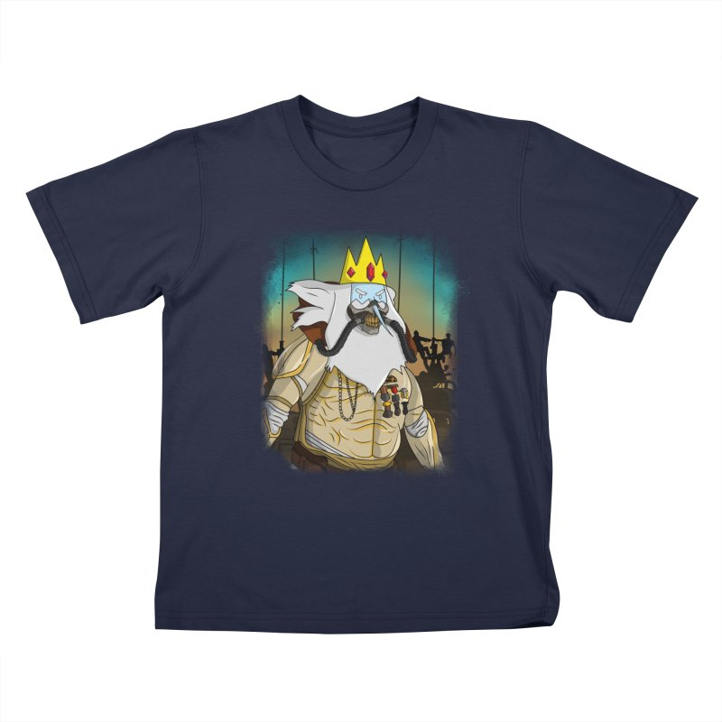 THE KING Kids T-Shirt by City of Pyramids's Artist Shop