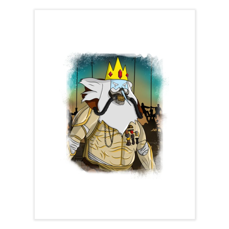 THE KING Home Fine Art Print by City of Pyramids's Artist Shop