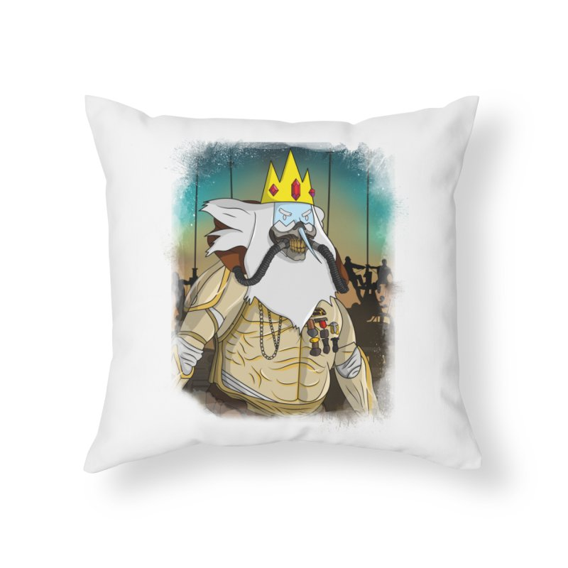 THE KING Home Throw Pillow by City of Pyramids's Artist Shop