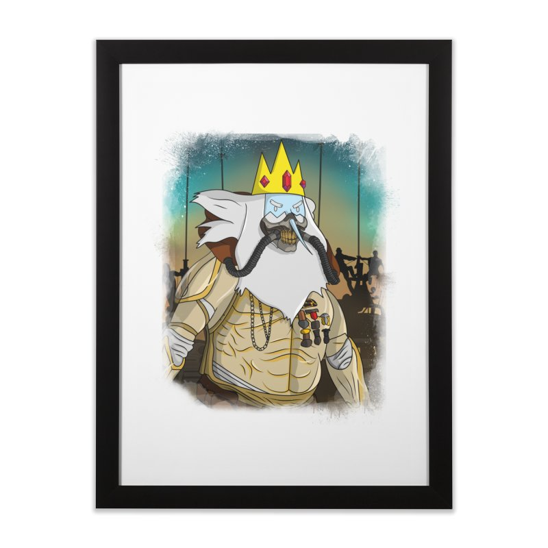 THE KING Home Framed Fine Art Print by City of Pyramids's Artist Shop