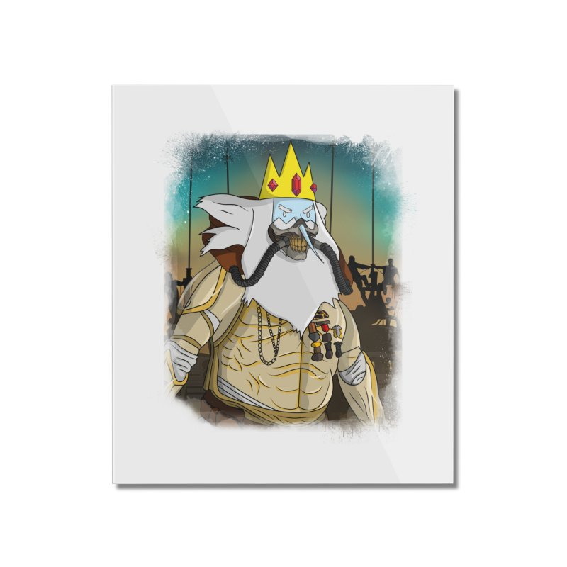 THE KING Home Mounted Acrylic Print by City of Pyramids's Artist Shop