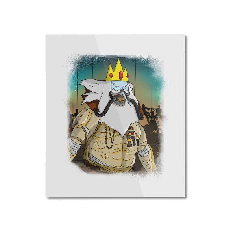 THE KING Home Mounted Aluminum Print by City of Pyramids's Artist Shop
