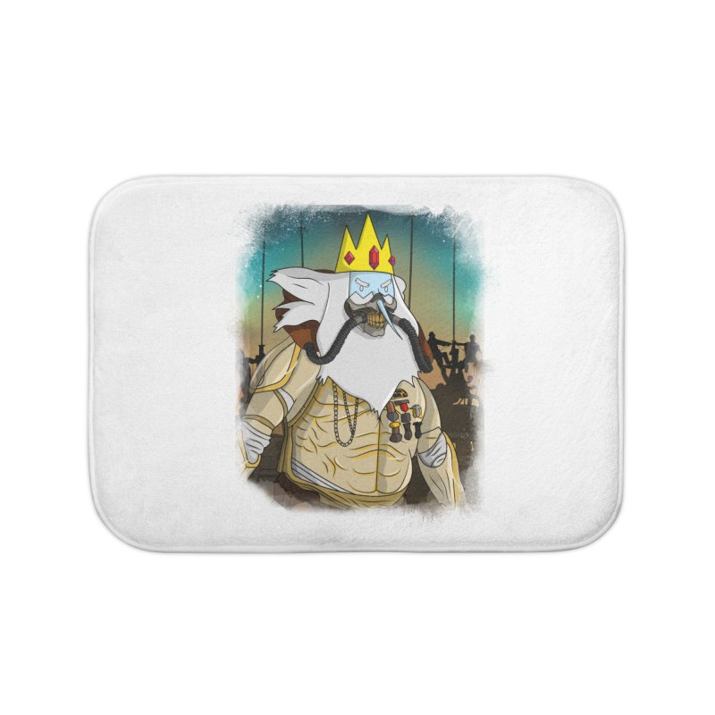 THE KING Home Bath Mat by City of Pyramids's Artist Shop