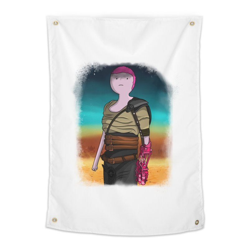 FURIOSA Home Tapestry by City of Pyramids's Artist Shop
