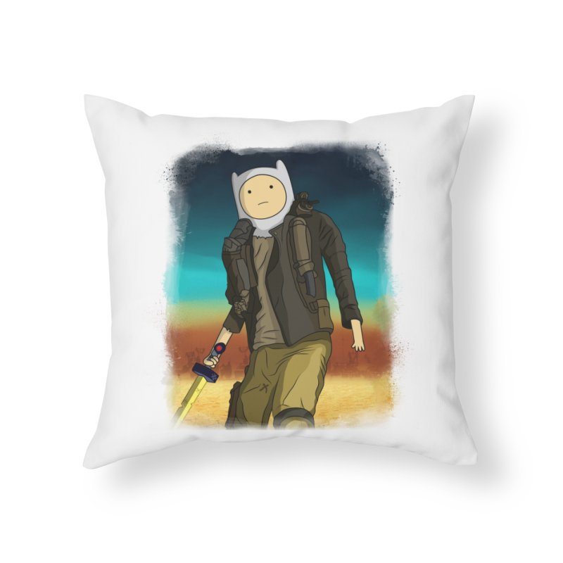 MAD MAX Home Throw Pillow by City of Pyramids's Artist Shop