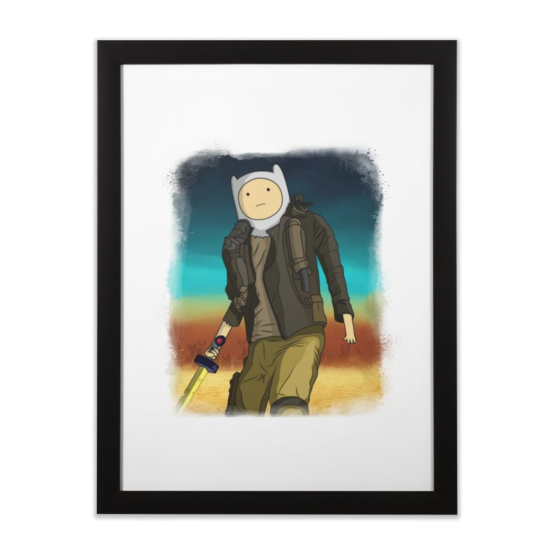 MAD MAX Home Framed Fine Art Print by City of Pyramids's Artist Shop