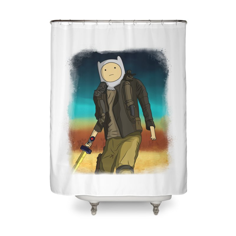 MAD MAX Home Shower Curtain by City of Pyramids's Artist Shop