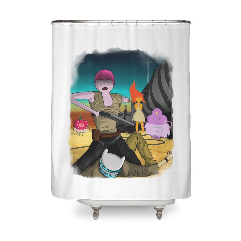 WHAT A LOVELY DAY Home Shower Curtain by City of Pyramids's Artist Shop