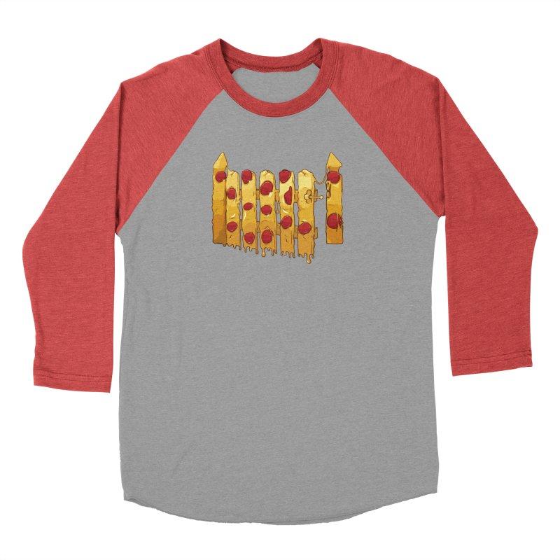 Pizza Fence Men's Longsleeve T-Shirt by City of Pyramids's Artist Shop
