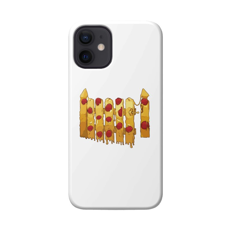 Pizza Fence Accessories Phone Case by City of Pyramids's Artist Shop