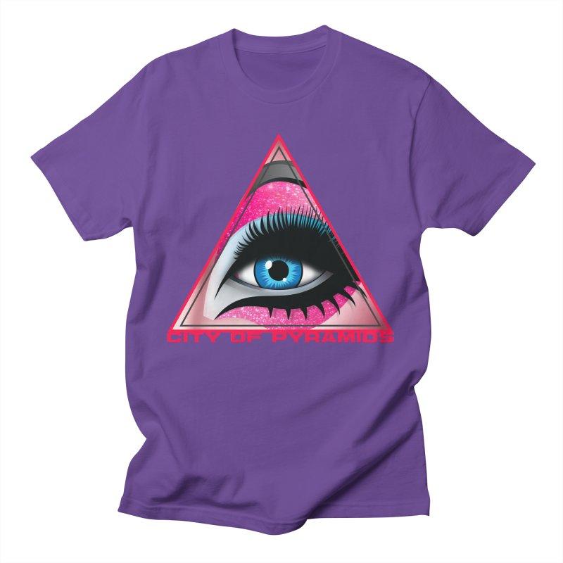Eyeconic Drag Men's T-Shirt by City of Pyramids's Artist Shop