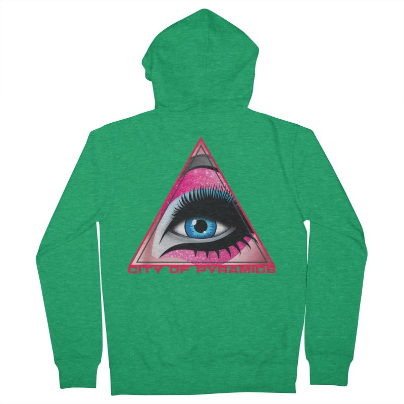 Eyeconic Drag Men's Zip-Up Hoody by City of Pyramids's Artist Shop