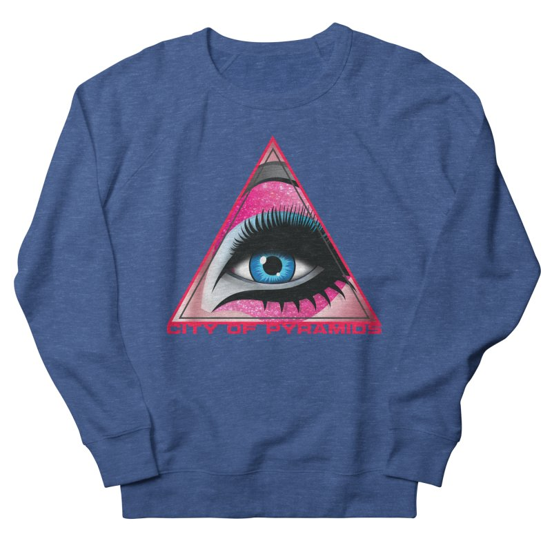 Eyeconic Drag Men's Sweatshirt by City of Pyramids's Artist Shop