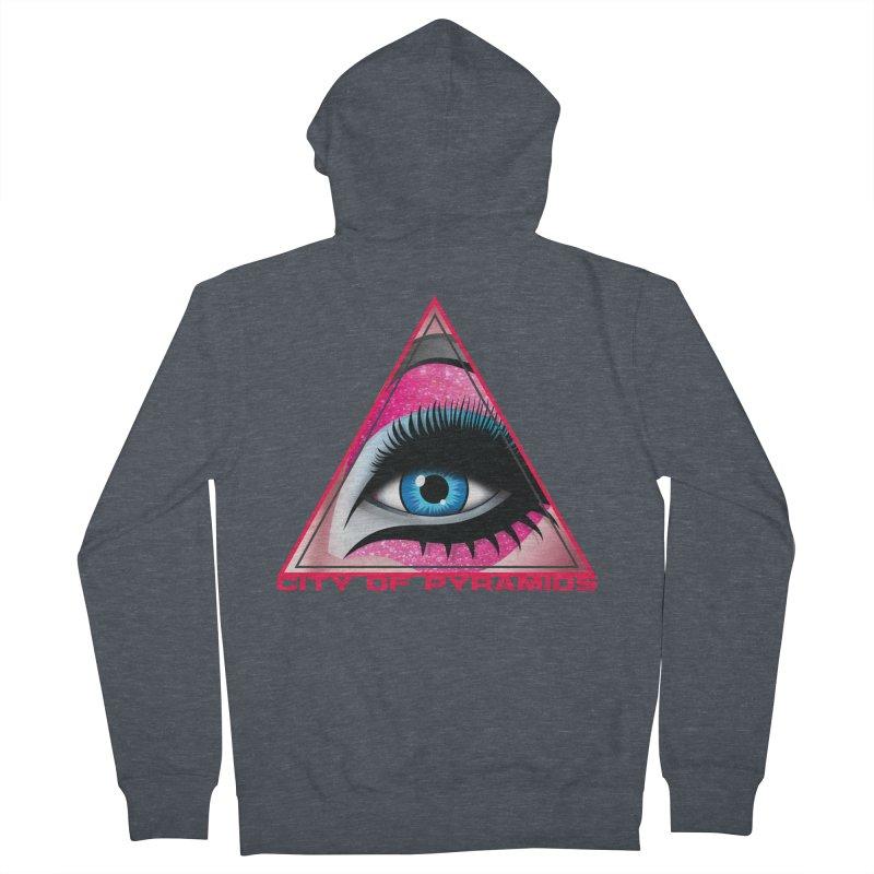 Eyeconic Drag Men's Zip-Up Hoody by City of Pyramids's Artist Shop