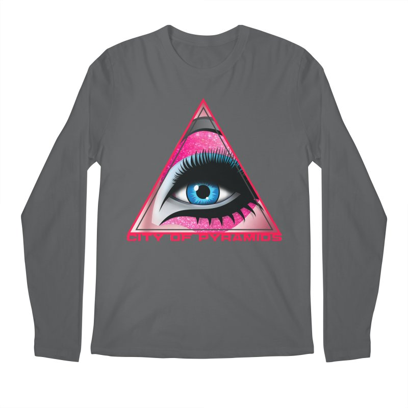 Eyeconic Drag Men's Longsleeve T-Shirt by City of Pyramids's Artist Shop