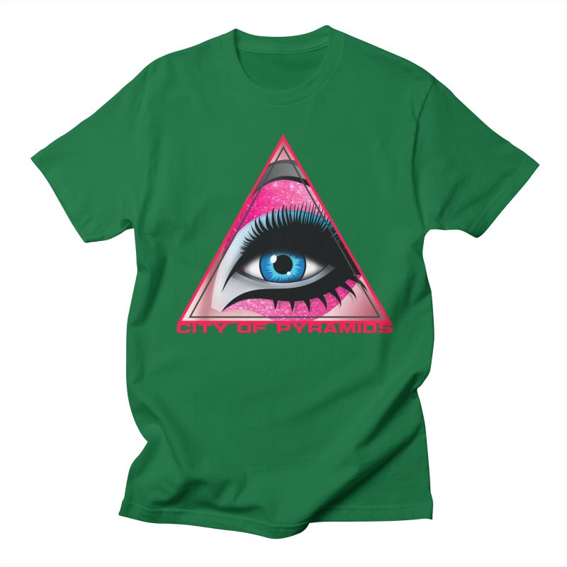 Eyeconic Drag Men's T-Shirt by City of Pyramids's Artist Shop